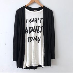 "Brand new ""I can't adult today"" tank!"